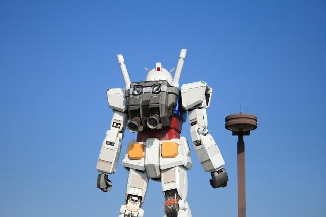 Gundam, back talking.JPG