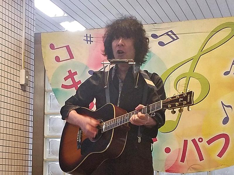 2019年3月8日 京都 京都市役所前駅 構内 にて
