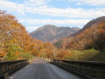 秋も終り03橋の向こうの秋山.jpg