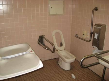 JR品川駅港南口多目的トイレの写真(内部)