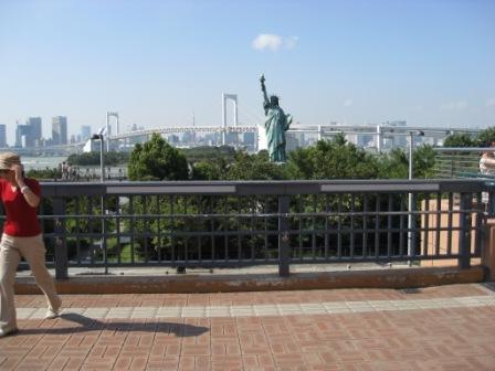 シンボルプロムナードからの眺め(写真)