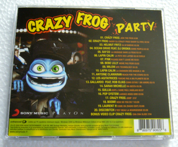 crazy frog party back
