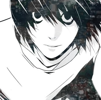anime-black-and-white-death-note-l-lawliet-manga-Favim.com-407589