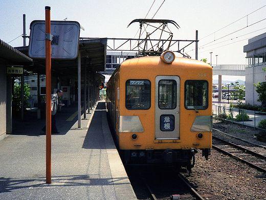 1992近江鉄道・日野駅348-1.jpg