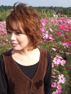 お花がきれいに咲いていて、ナチュラル
