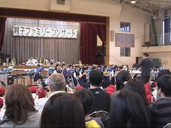康介2011 親子ファミリーコンサート  三中吹奏楽部.JPG