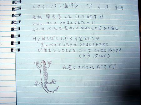 テトラさんのイモリン.JPG