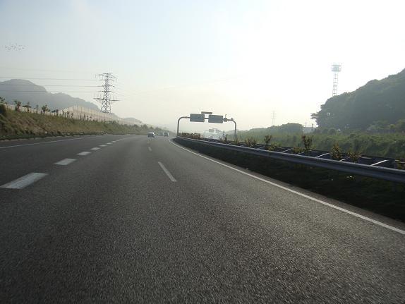 朝霧がでちょる.JPG