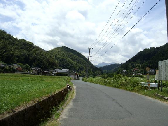 赤村から油木ダムへ向かってます.JPG