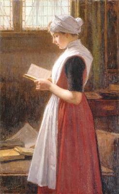ニコラース・ファン・デル・ヴァーイ《アムステルダムの孤児院の少女》