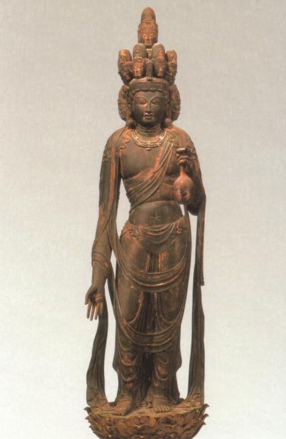 十一面観音菩薩立像(滋賀・向源寺蔵)