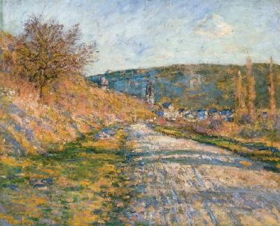 クロード・モネ《ヴェトゥイユへの道》