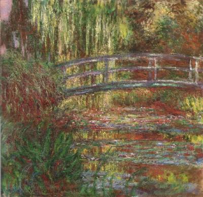 《睡蓮の池》(ボストン美術館蔵)