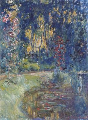 《ジヴェルニーの池の片隅》(グルノーブル美術館蔵)