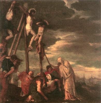 《磔刑(ヴェロネーゼに基づく模写)》