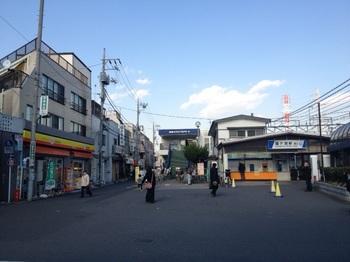 鐘ヶ淵駅前.JPG