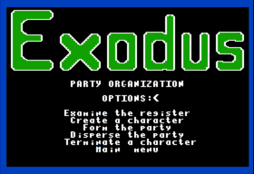Ultima III - PartyOrganization (Apple II)(1983)(Origin Systems)