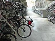 病院まで自転車で