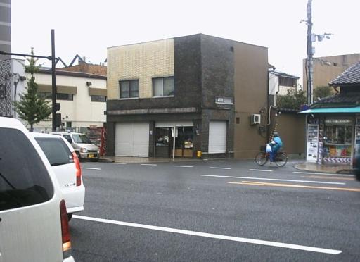 レッド吉田の京都ツアー ひやしあめのお店はシャッターが下りていました