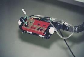 改造したファミコンのコントローラー