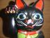 黒い招き猫さんの画像